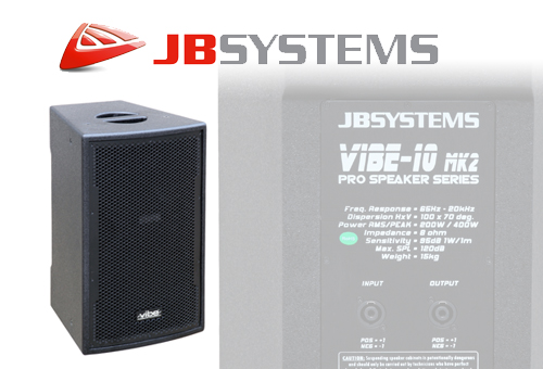 JBSYSTEMS VIBE10 Luidsprekers