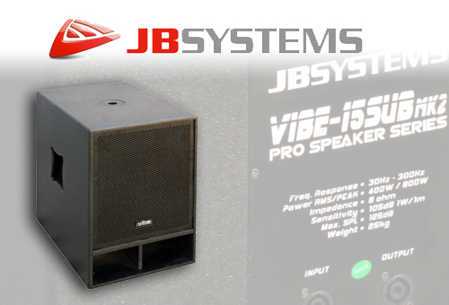 JBSYSTEMS VIBE15SUBMK2 Subwoofer