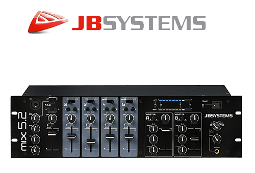 JBSYSTEMS MIX5.2 Horeca Mixer