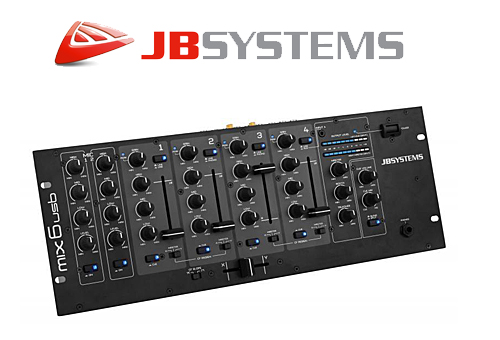 JBSYSTEMS MIX 6 USB Audio Mixer