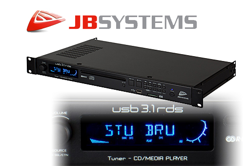 JBSYSTEMS USB3.1 Media Player